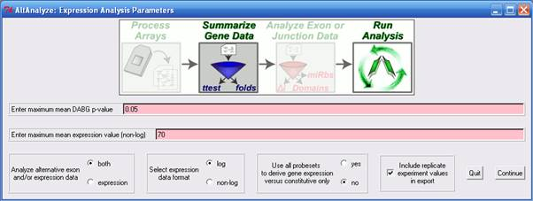 Altanalyze Analysis Pipeline